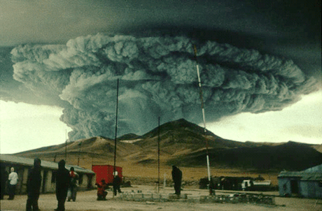 Volcans... Volcan-Lascar-Chili-1993
