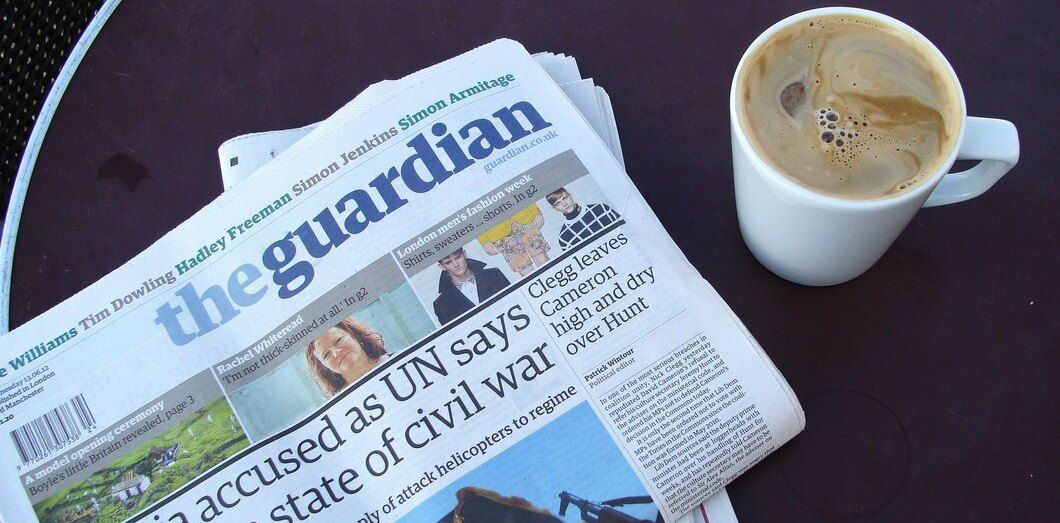 Le journal The Guardian | Nick via Flickr CC License by