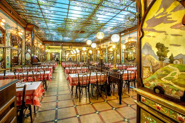 Salle du restaurant Bouillon Chartier Montparnasse