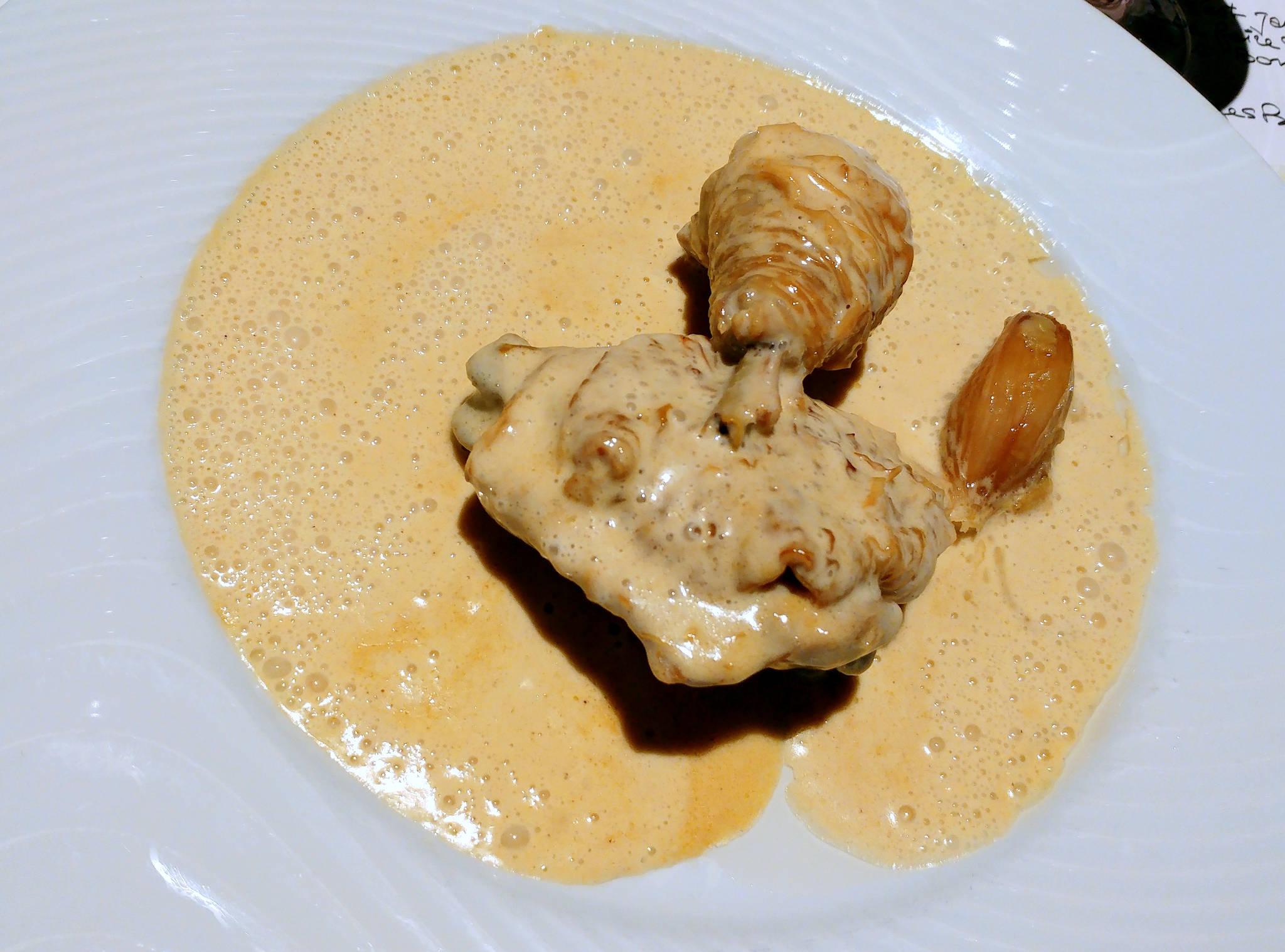 Volaille de Bresse à la crème selon la Mère Blanc © naniecuisine.com