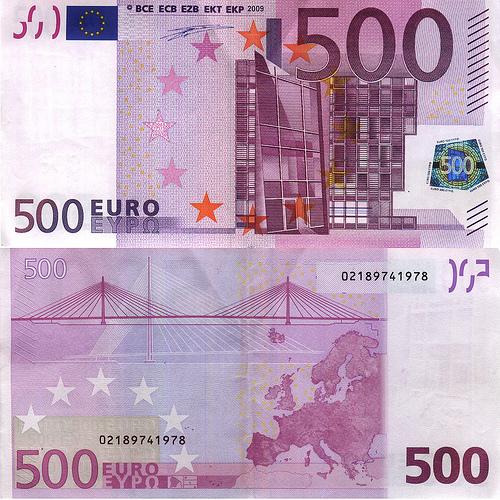 le billet de 500 euros est il une arme. Black Bedroom Furniture Sets. Home Design Ideas