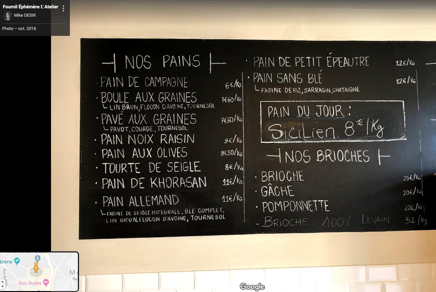 La France du pain est coupée en deux