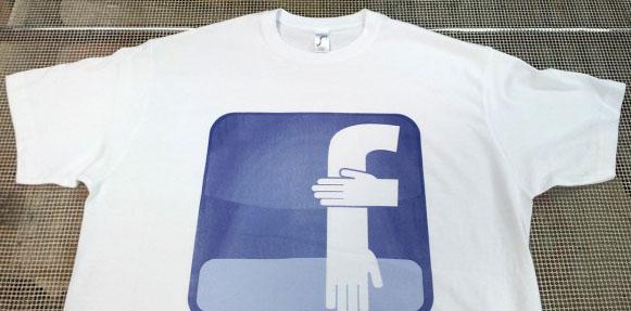 logo facebook quenelle