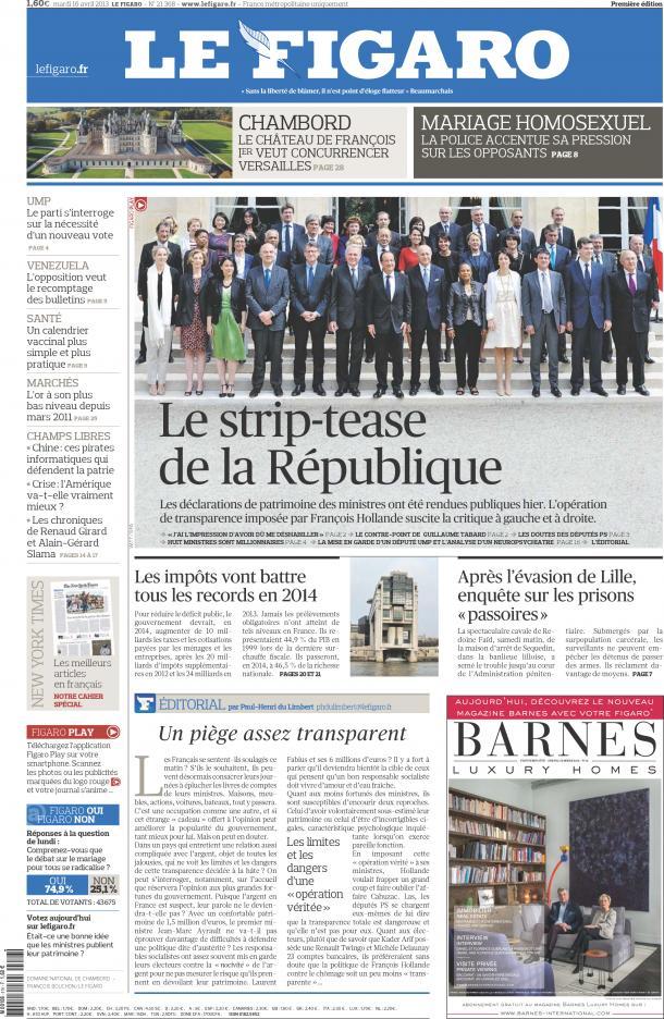 journaux et presse francaise