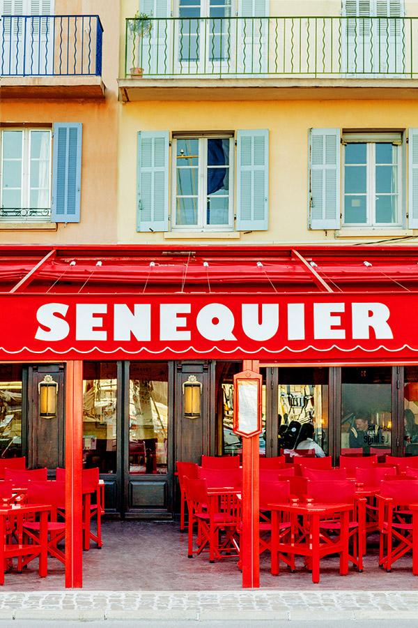 St Tropez Restaurant Pas Cher