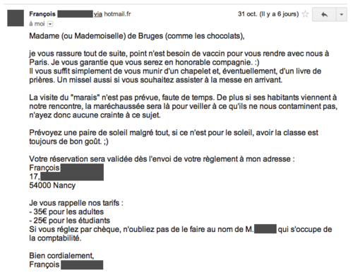 rencontre adresse hotmail