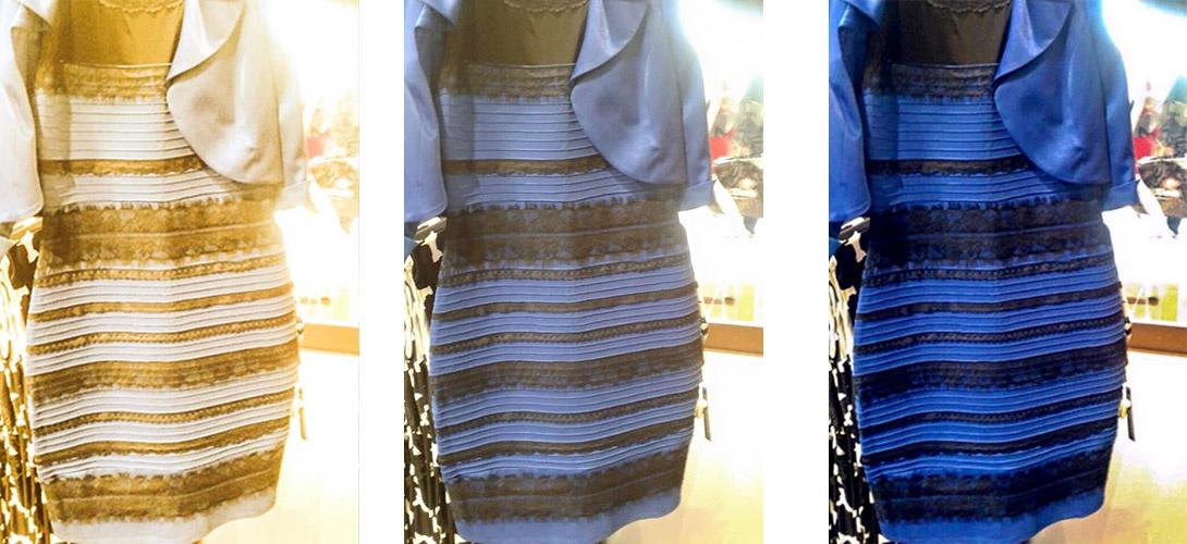 trois mois apr s les scientifiques rendent leur verdict sur l affaire de la robe noire et bleue. Black Bedroom Furniture Sets. Home Design Ideas