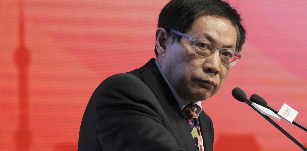Ren Zhiqiang, le 18 novembre 2013, à Pékin. | China News Service (CNS) / AFP
