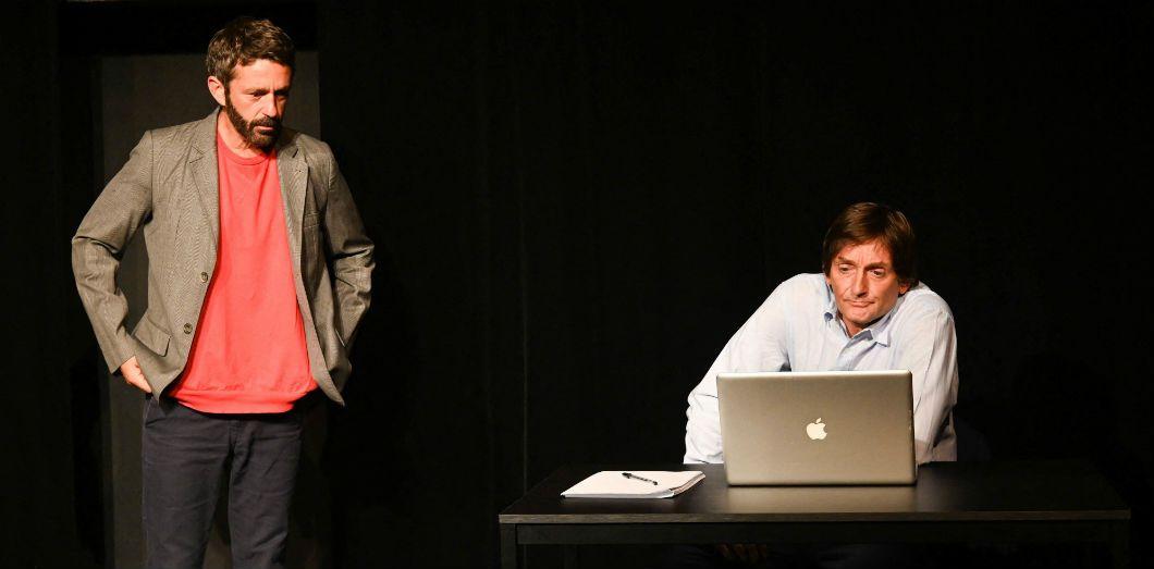 Pierre Palmade et Benjamin Gauthier dansAssume, bordel! |Guirec Coadic-Bestimage