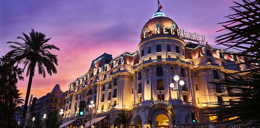 Le Negresco à Nice et le Martinez à Cannes, hôtels d'exception
