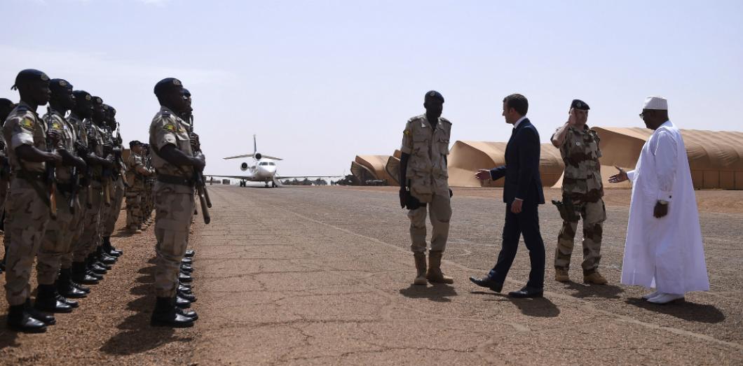 engagement militaire de la france au mali