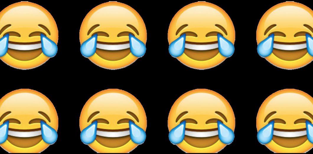L Emoji Qui Pleure De Rire Est Celui Que Nous Utilisons Le Plus