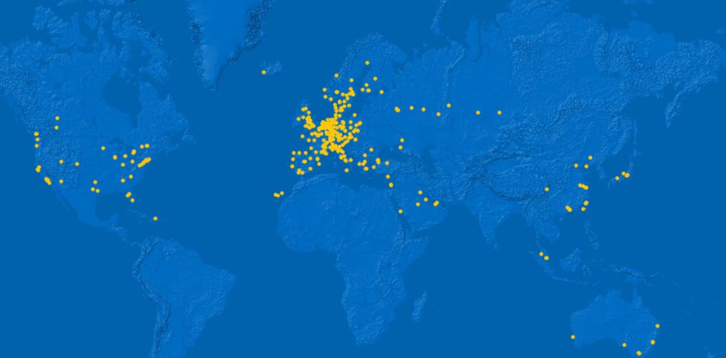 Ikea Espagne Carte.Carte Interactive Comment Ikea A Conquis Le Monde Slate Fr