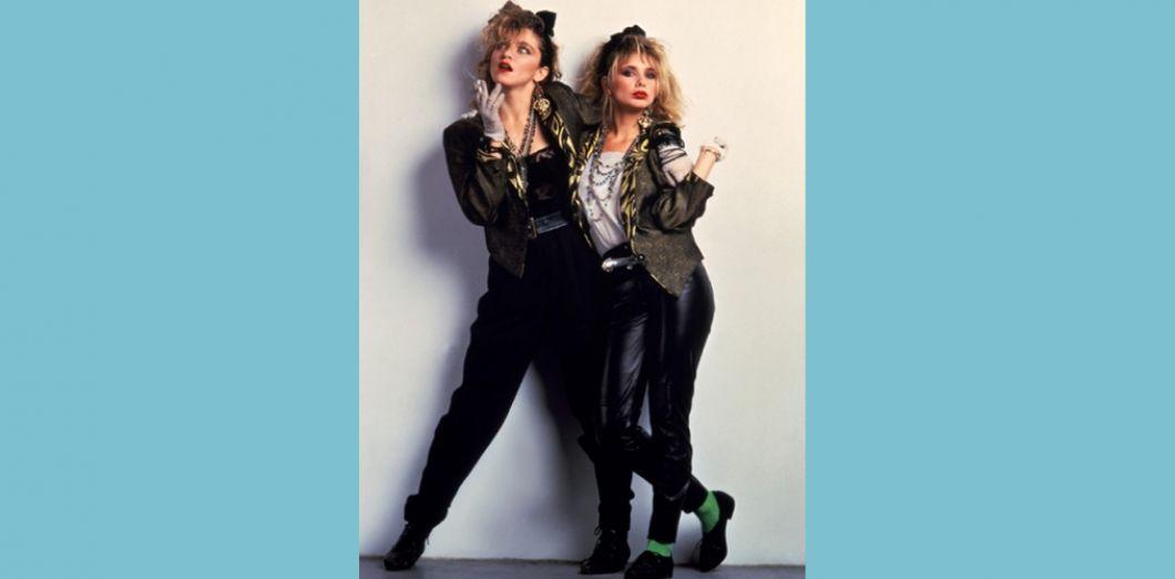 La mode revient aux années 1980, c'est grave docteur? |