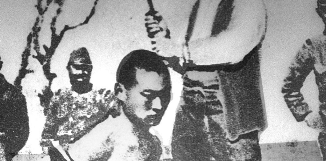 Un prisonnier chinois s apprête à être décapité lors du massacre de Nankin,  en c6c51c1b5a2a
