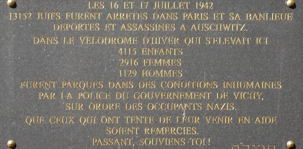 Sur La Rafle Du Vel D Hiv Marine Le Pen Veut Ramener La France Trente Ans En Arriere Slate Fr