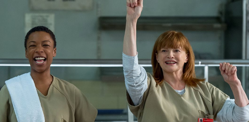 Blair Brown et Samira Wiley dans «Orange is the new Black» © Netflix