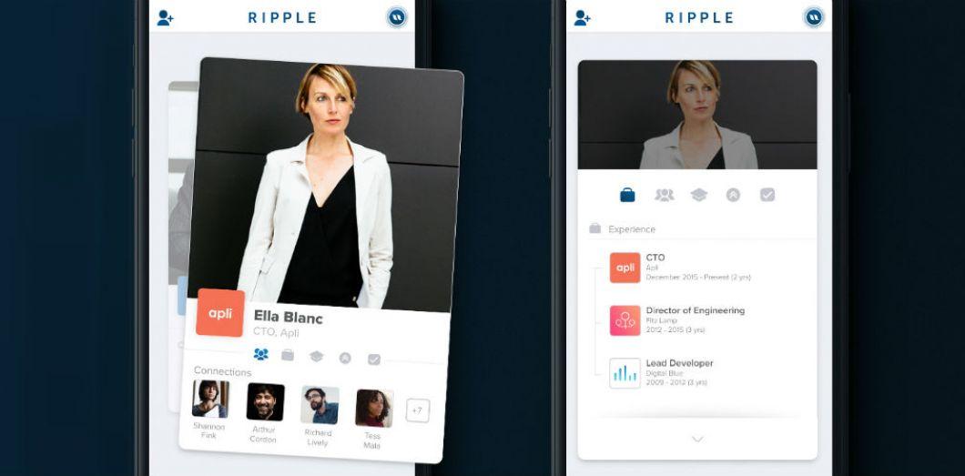 Le nouveau concurrent de LinkedIn ressemble à une appli de rencontre