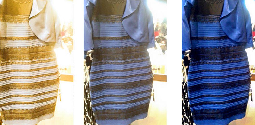 70a6a756fdd Pourquoi tout le monde ne voit pas cette robe de la même couleur ...