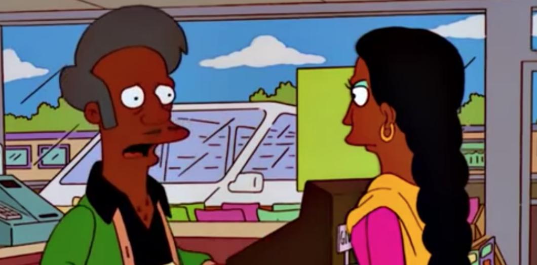 sacaron a Apu de Los Simpsons
