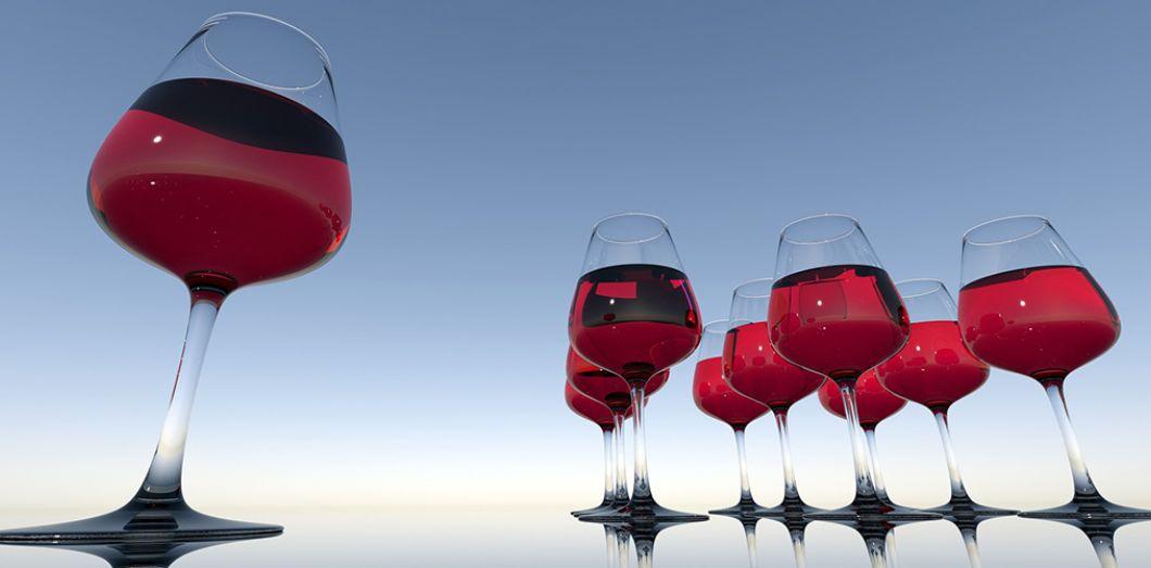 Plus le verre est grand, plus l'ivresse guette |