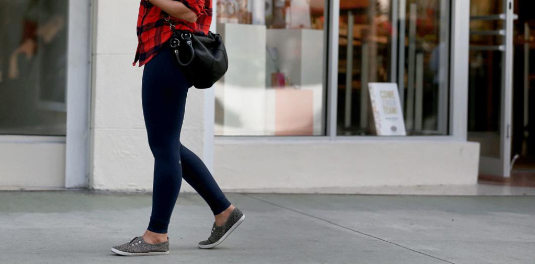 legging dans la rue