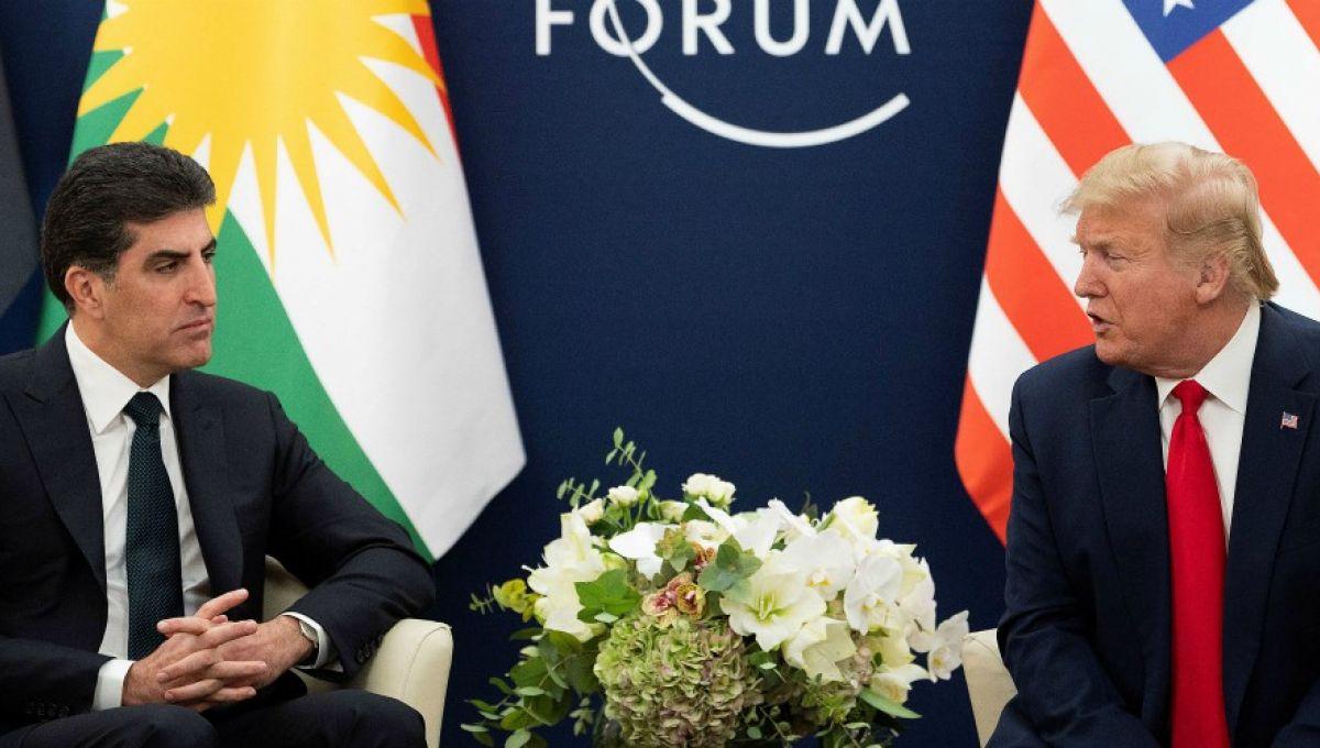 À Davos, Trump prend le président du Kurdistan irakien pour un Syrien