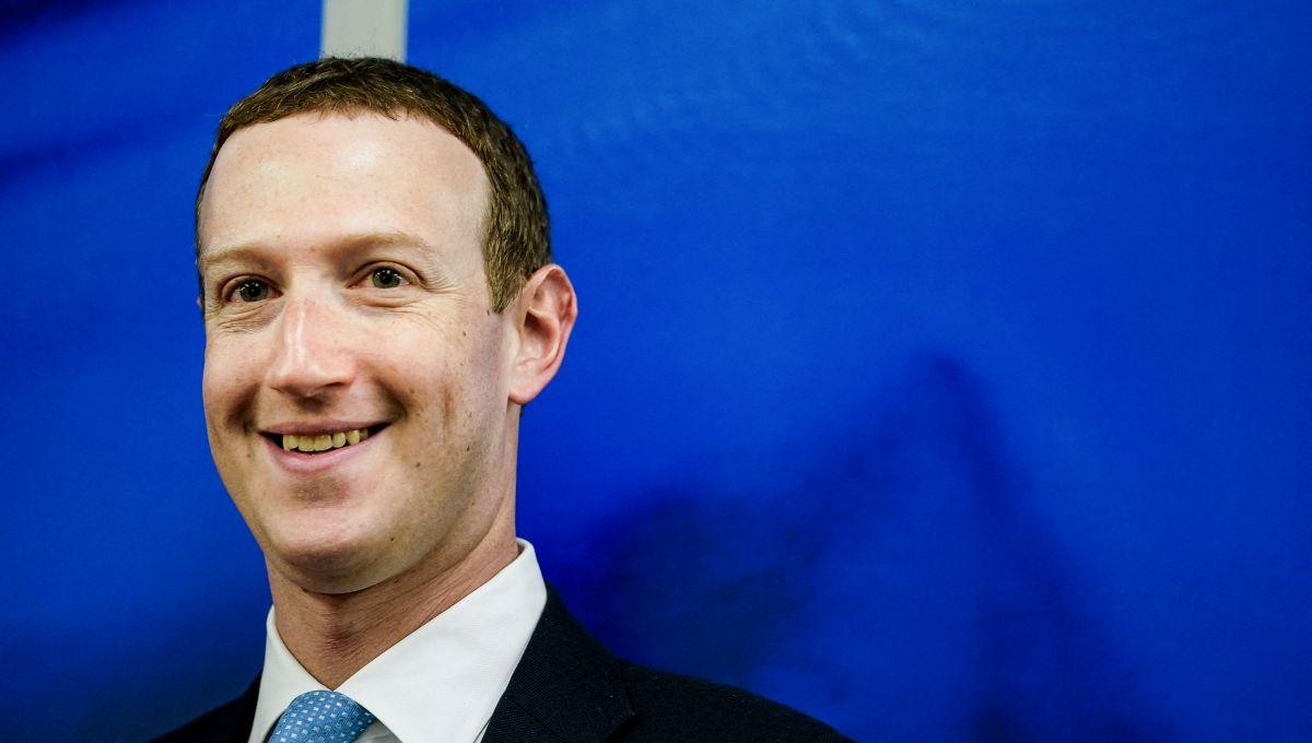 Mark Zuckerberg à Bruxelles, le 17 février 2020, lors d'une rencontre avec la Commission européenne.| Kenzo Tribouillard/ AFP.