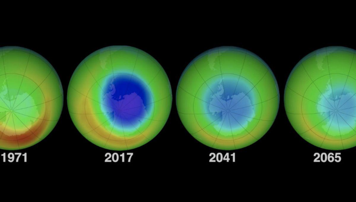 le trou dans la couche d ozone est en train de se r sorber d 39 apr s la nasa. Black Bedroom Furniture Sets. Home Design Ideas