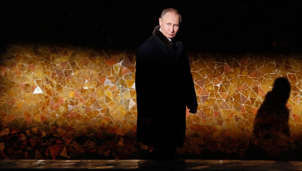 Le président russe Vladimir Poutine, à Volgograd, en Russie, en 2018. | Maxim Shemetov / Pool / AFP
