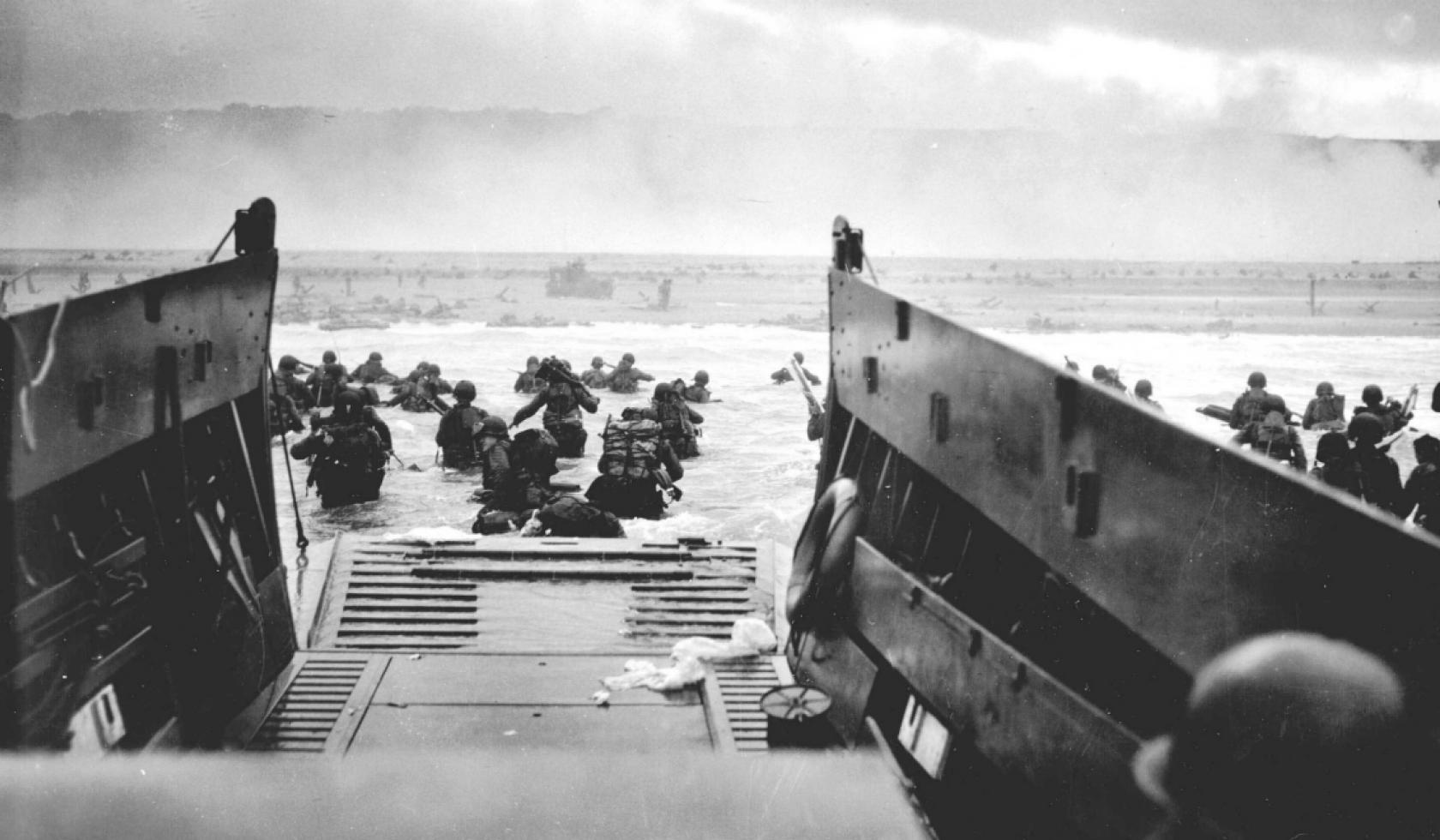 Les paysages du Débarquement en photos, en 1944 et aujourd'hui ...