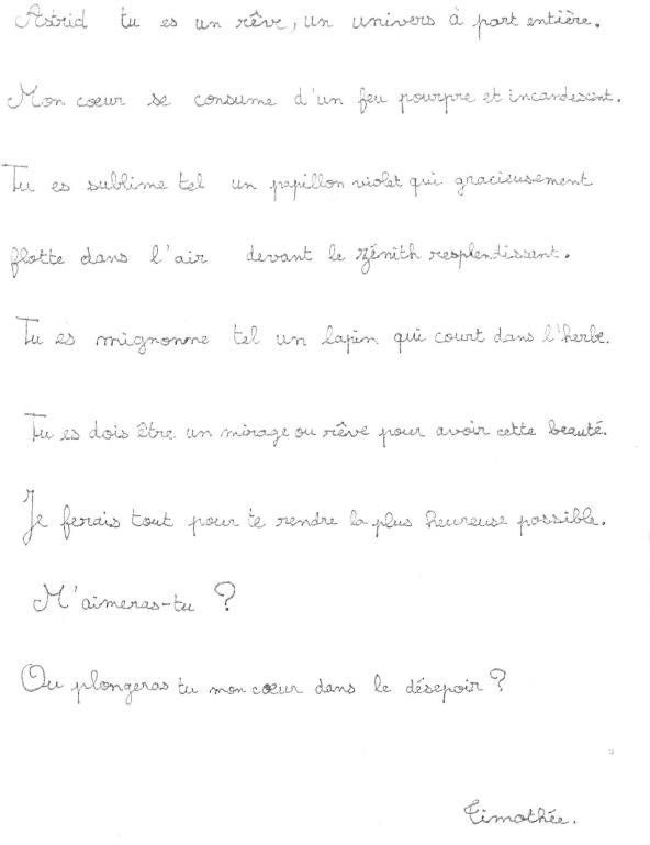 Les Lettres Damour Servent Elles Encore à Quelque Chose
