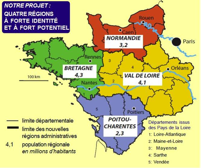 Carte Bretagne Vendee.Bretagne La Guerre Des Frontieres Slate Fr